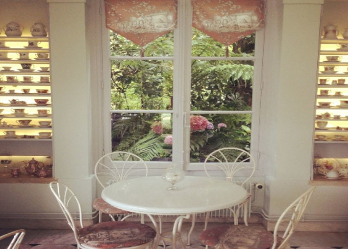Les thés brillants salon de thé châtenay malabry interieur