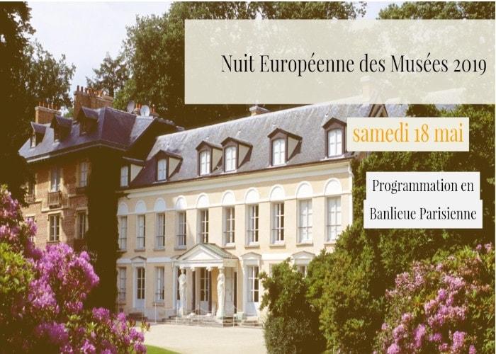 Nuit Européenne des Musées 2019 | Programme en Banlieue Parisienne