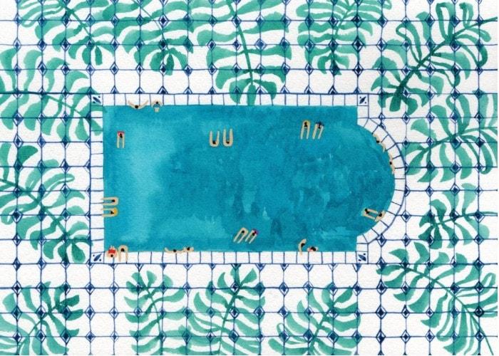 Top des piscines en Île de France