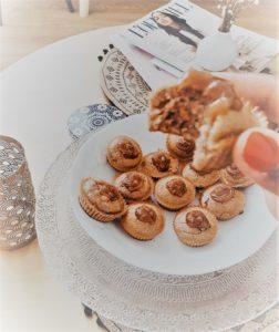 muffins à la crème de marrons recette
