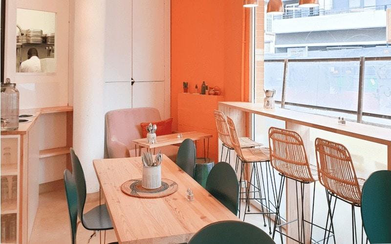 AMIMA restaurant Saint-Ouen - intérieur