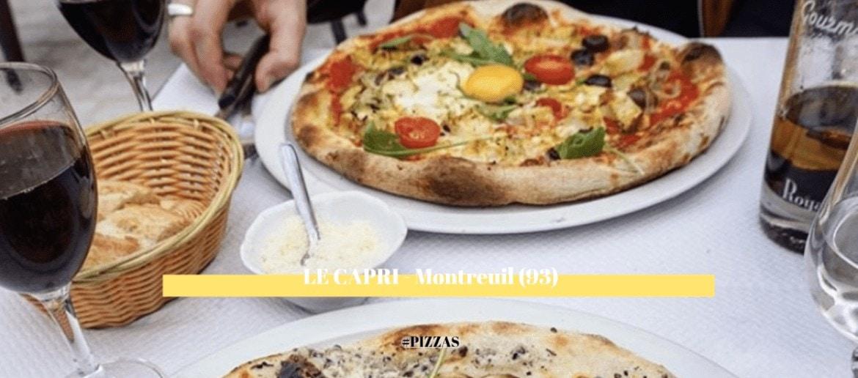 LE CAPRI, restaurant coup de coeur d'Alexia | Montreuil (93)