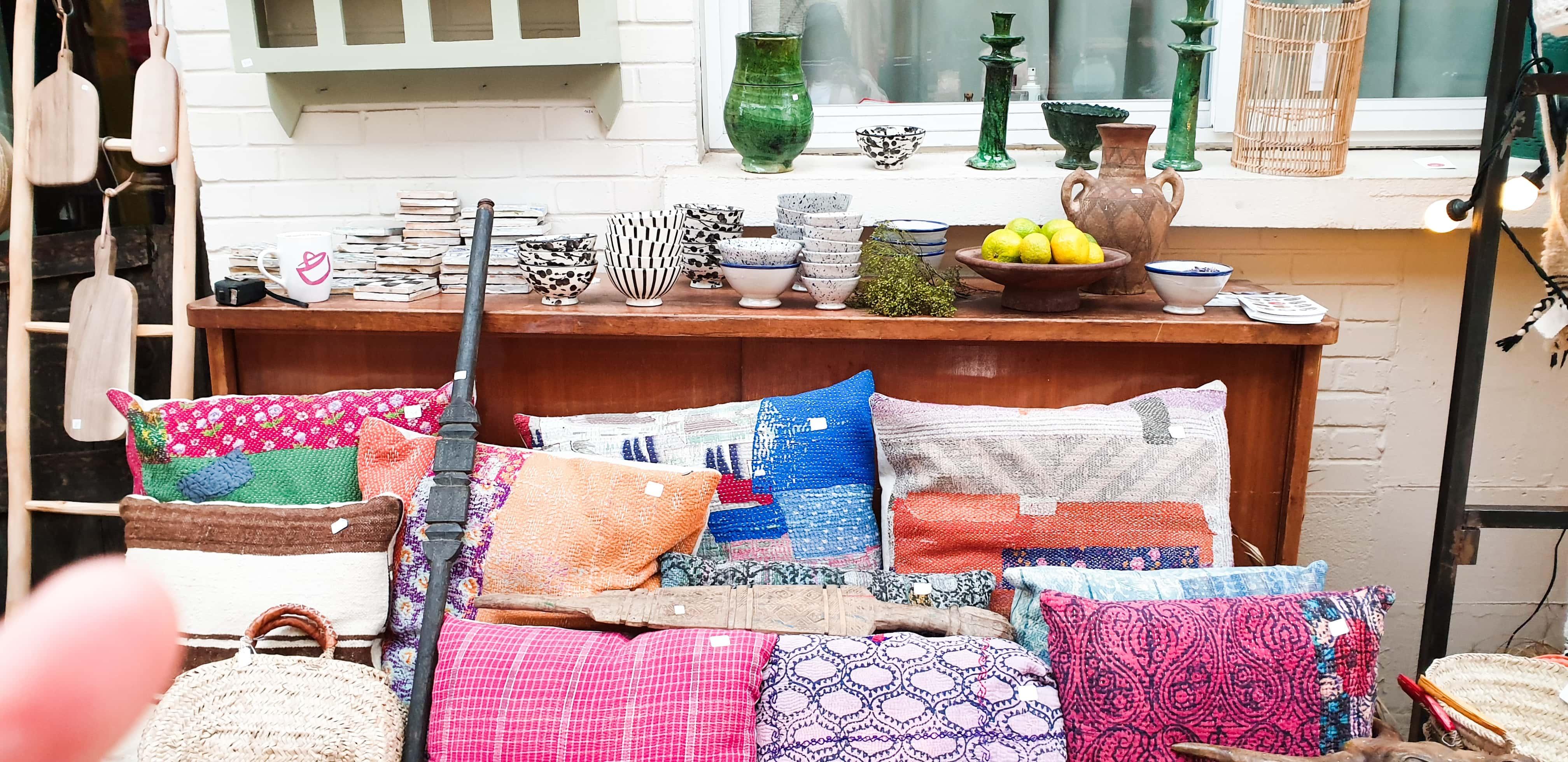 ROUGE HORIZON Clamart, artisanat marocain