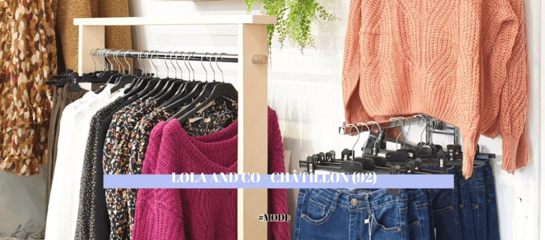 LOLA AND CO – Boutique de Prêt-à-Porter | CHÂTILLON (92)