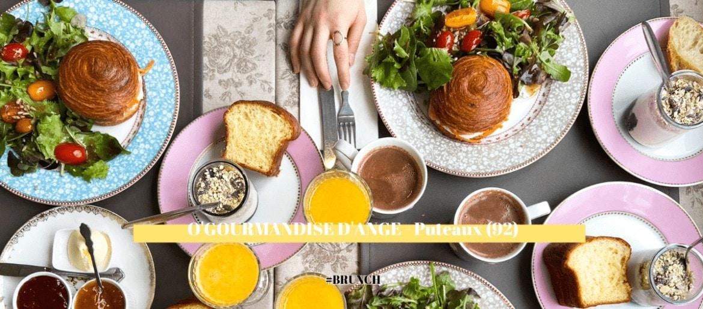 Le Brunch au salon de thé O'gourmandise d'Ange ~ Puteaux (92)