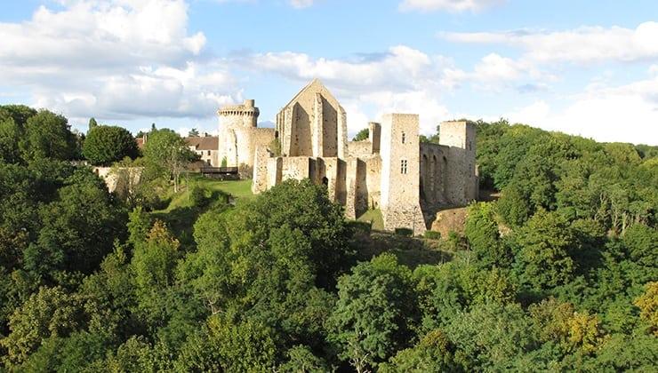 randonnées yvelines - chateau de la madeleine chevreuse.fr -