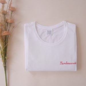 Tshirt Banlieusarde rouge - ma petite banlieue x tiana RKV