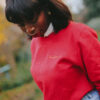 Banlieusarde Sweat-shirt rouge