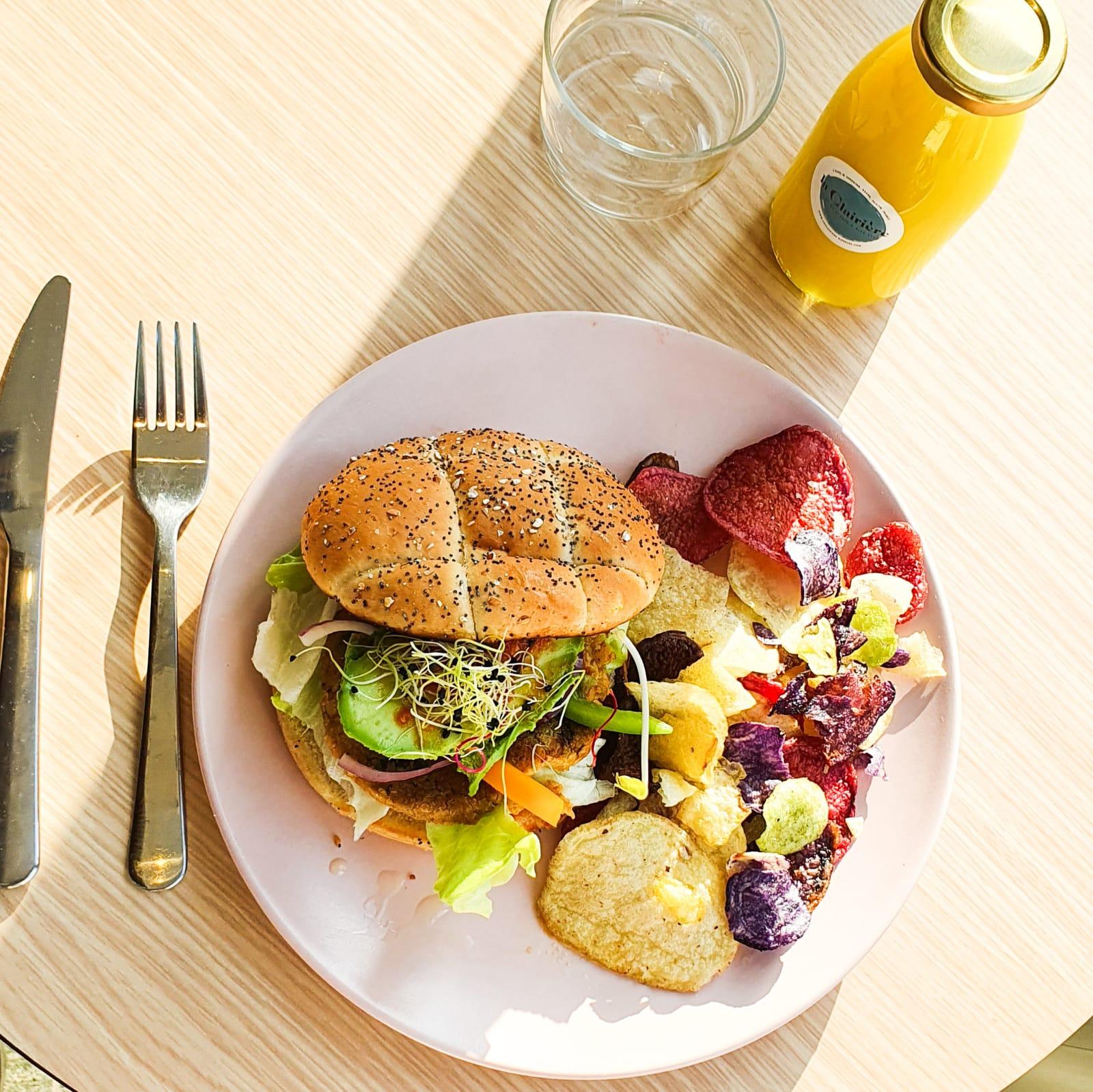 food ~la clairière pantin